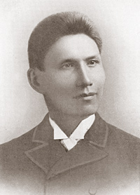 Photo of Charles Eastman (Ohiyesa) in 1890