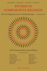 Studies in Comparative Religion - Commemorative Annual Edition 1970
