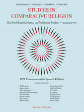 Studies in Comparative Religion - Commemorative Annual Edition 1971