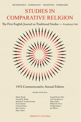 Studies in Comparative Religion - Commemorative Annual Edition 1972