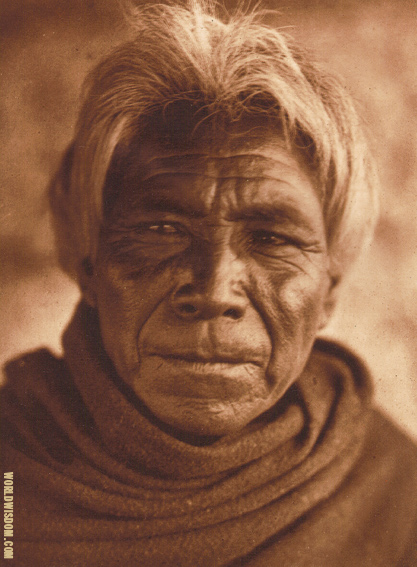 """Qahatika man""- Qahatika, by Edward S. Curtis from The North American Indian Volume 2"