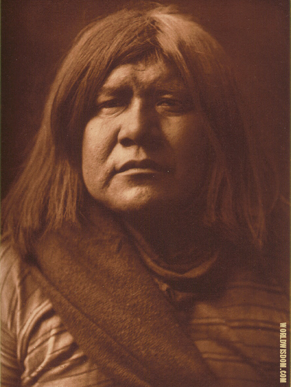 """A Yuma"" - Yuma, by Edward S. Curtis from The North American Indian Volume 2"