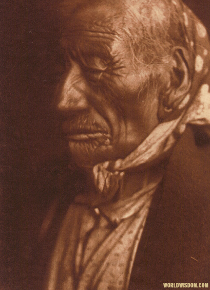 """Blue Horse - Ogalala - Teton Sioux"", by Edward S. Curtis from The North American Indian Volume 3"