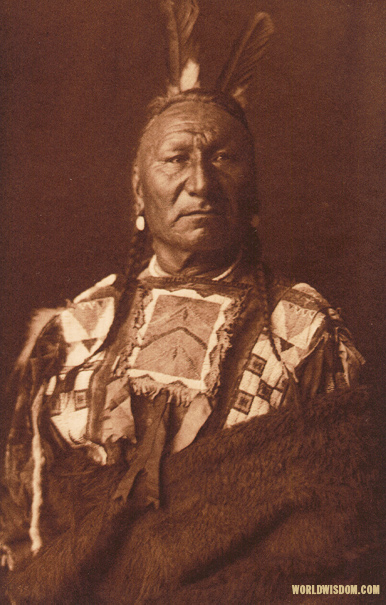 """Yellow Horse - Yanktonai"", by Edward S. Curtis from The North American Indian Volume 3"