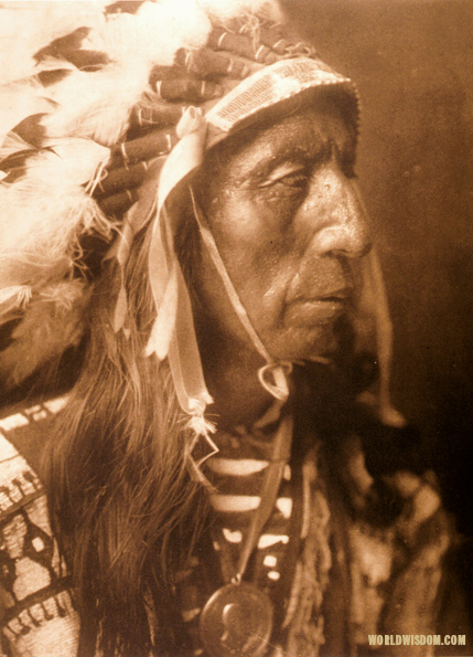 """Jack Red Cloud - Teton Sioux"", by Edward S. Curtis from The North American Indian Volume 3"