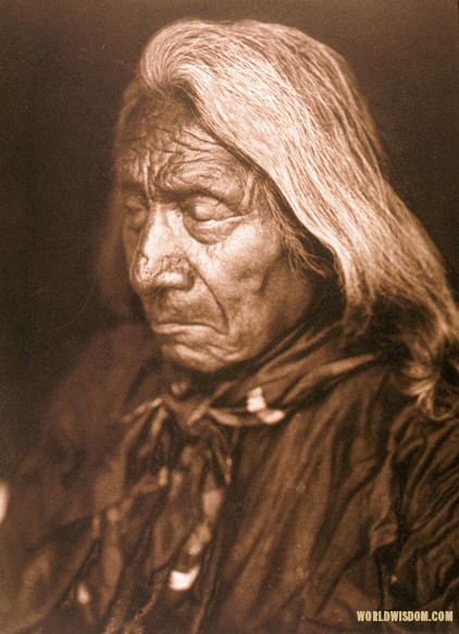 """Red Cloud - Ogalala - Teton Sioux"", by Edward S. Curtis from The North American Indian Volume 3"