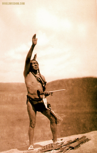 """Invocation - Teton Sioux"", by Edward S. Curtis from The North American Indian Volume 3"
