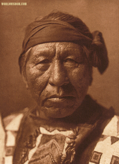 """Sitting Owl"" - Hidatsa, by Edward S. Curtis from The North American Indian Volume 4"