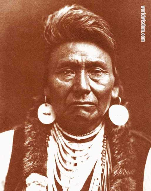 Chief Joseph Rolling Thunder - Nez Perce