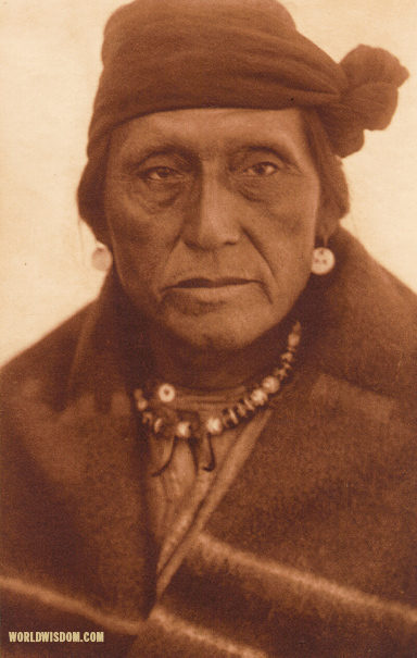 """Holds The Eagle"" - Hidatsa, by Edward S. Curtis from The North American Indian Volume 4"