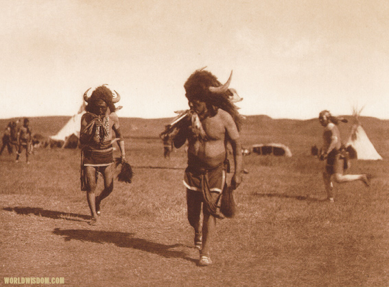 """Arikara medicine ceremony : The buffalo"" - Arikara, by Edward S. Curtis from The North American Indian Volume 5"