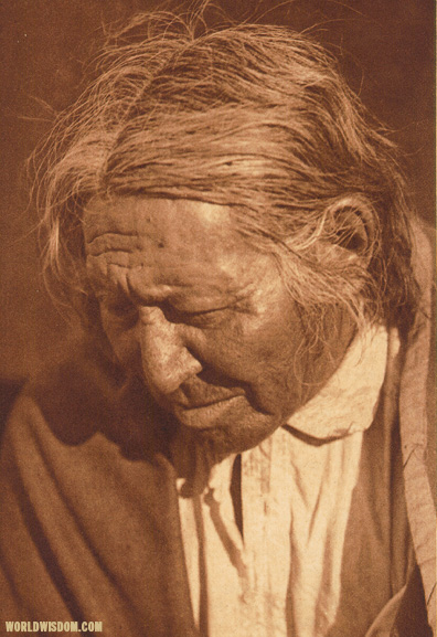"""Eagle Chief"" - Arapaho, by Edward S. Curtis from The North American Indian Volume 6"