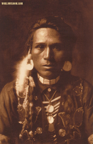 """A young Yakima"", by Edward S. Curtis from The North American Indian Volume 7"