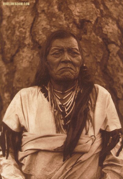 """Not Indian - Flathead"", by Edward S. Curtis from The North American Indian Volume 7"