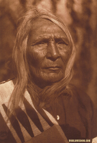 """Ahlahlemila - Flathead"", by Edward S. Curtis from The North American Indian Volume 7"