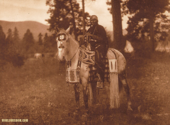 """Flathead horse trappings"", by Edward S. Curtis from The North American Indian Volume 7"