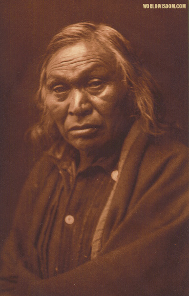 """Not Grizzly-bear - Kutenai"", by Edward S. Curtis from The North American Indian Volume 7"
