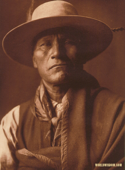 """Pukimanstula - Spokan"", by Edward S. Curtis from The North American Indian Volume 7"
