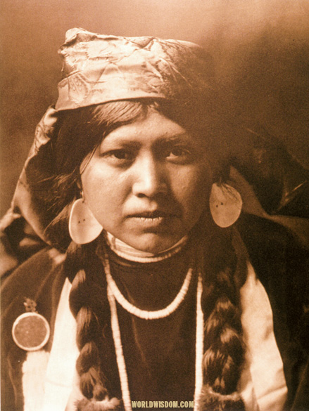 """Wishnai - Yakima"", by Edward S. Curtis from The North American Indian Volume 7"