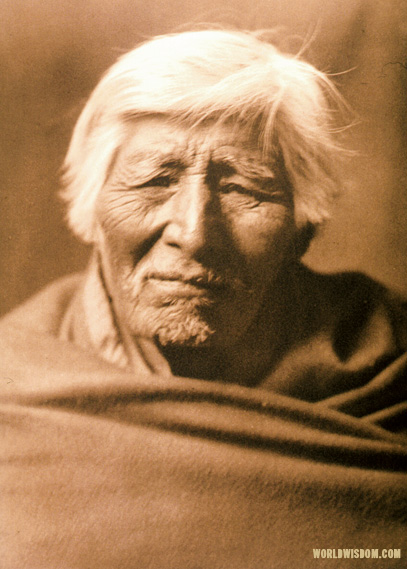 """Klickitat type"", by Edward S. Curtis from The North American Indian Volume 7"