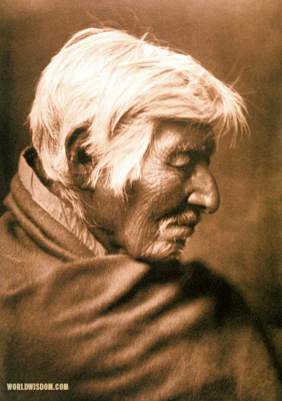 """Klickitat profile"", by Edward S. Curtis from The North American Indian Volume 7"