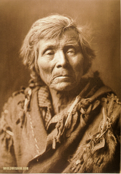 """Spokan man"", by Edward S. Curtis from The North American Indian Volume 7"