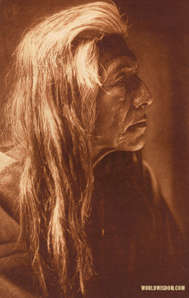 """Grizzly-Bear Ferocious - Nez Perces"", by Edward S. Curtis from The North American Indian Volume 8"