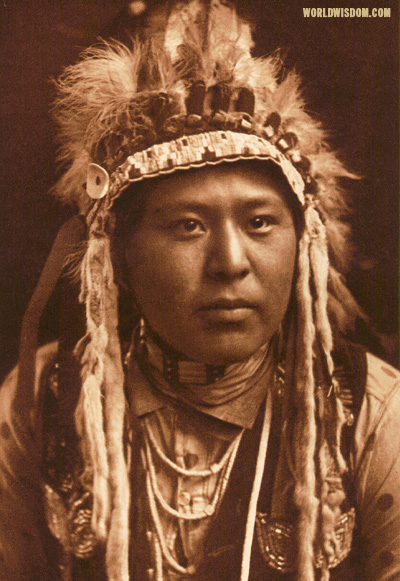 """White Bull - Umatilla"", by Edward S. Curtis from The North American Indian Volume 8"
