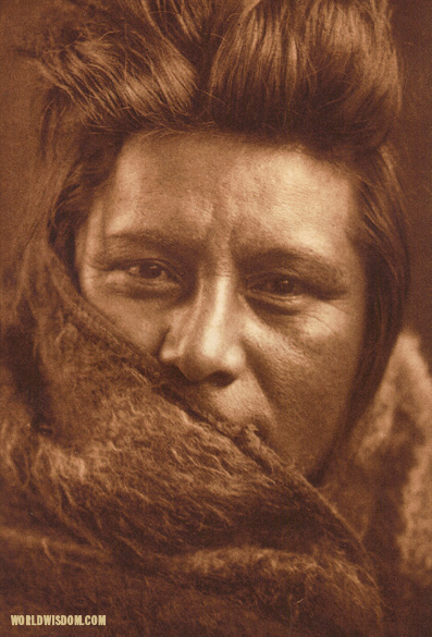 """A young Umatilla"", by Edward S. Curtis from The North American Indian Volume 8"