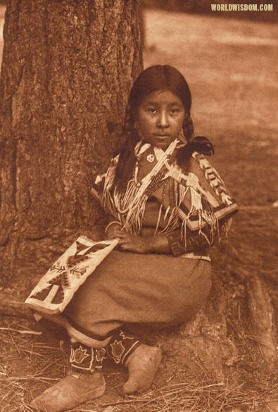 """Umatilla child"", by Edward S. Curtis from The North American Indian Volume 8"