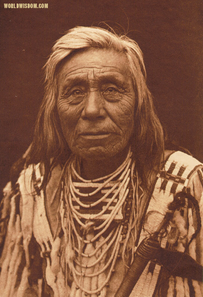 """Cayuse type"", by Edward S. Curtis from The North American Indian Volume 8"