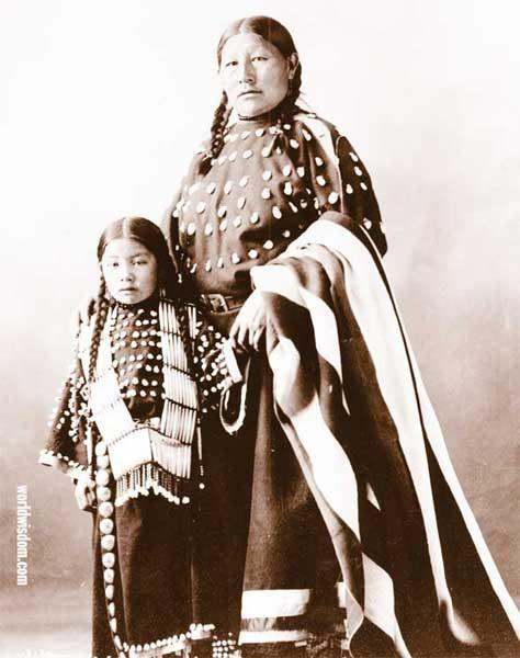 Good Women and Strikes Plenty - Oglala Lakota