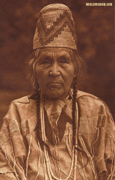 """Cayuse matron"", by Edward S. Curtis from The North American Indian Volume 8"