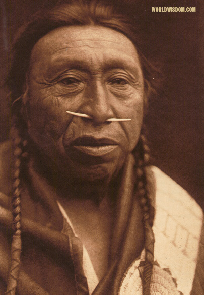 """Spidis - Wishham"", by Edward S. Curtis from The North American Indian Volume 8"