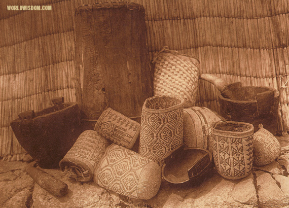 """Wishham handicraft"", by Edward S. Curtis from The North American Indian Volume 8"