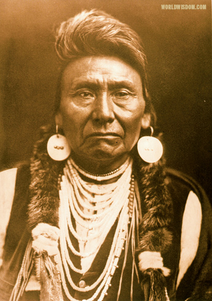 """Chief Joseph - Nez Perces"", by Edward S. Curtis from The North American Indian Volume 8"