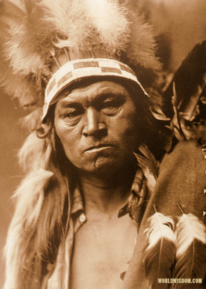"""Cayuse warrior"", by Edward S. Curtis from The North American Indian Volume 8"