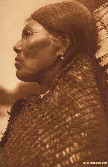 """Bahlkabuh"" - Skokomish, by Edward S. Curtis from The North American Indian Volume 9"