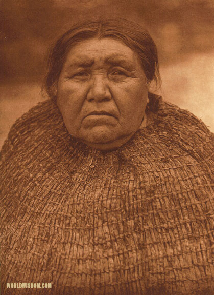 """Yalqablu - Skokomish"", by Edward S. Curtis from The North American Indian Volume 9"
