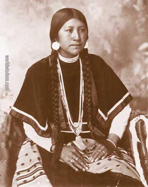 Unknown Indian Women- Cayuse