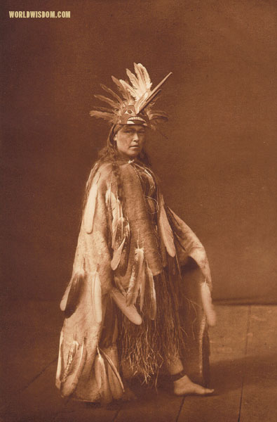 """Nunalalahl - Kwakiutl"", by Edward S. Curtis from The North American Indian Volume 10"