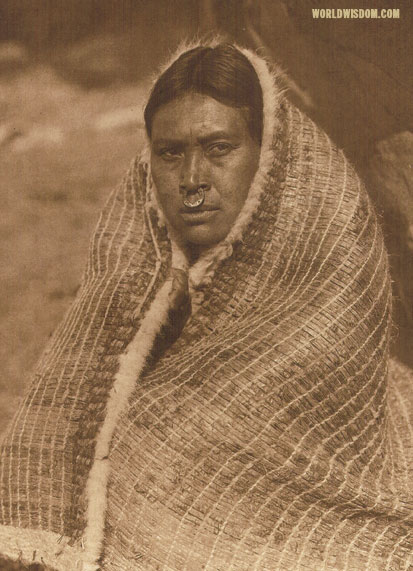 """A Nootka belle - Nootka"", by Edward S. Curtis from The North American Indian Volume 11"