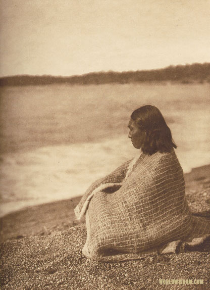 """By the sea - Nootka"", by Edward S. Curtis from The North American Indian Volume 11"