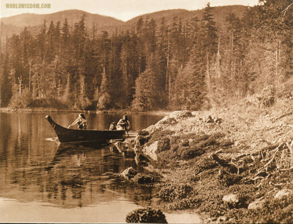 """Shores of Nootka Sound - Nootka"", by Edward S. Curtis from The North American Indian Volume 11"
