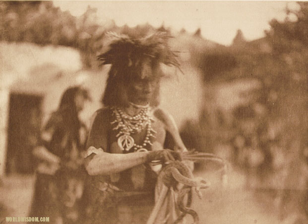 """The 'catcher' - Hopi"", by Edward S. Curtis from The North American Indian Volume 12"