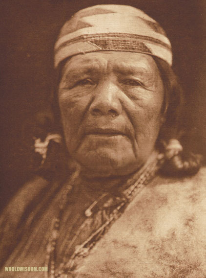 """Hupa matron - Hupa"", by Edward S. Curtis from The North American Indian Volume 13"