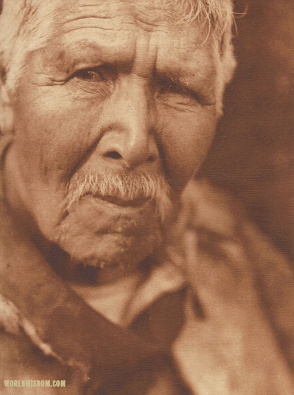 """Hupa war-chief - Hupa"", by Edward S. Curtis from The North American Indian Volume 13"