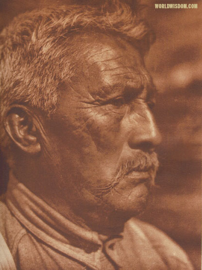 """Weitchpec George - Yurok"", by Edward S. Curtis from The North American Indian Volume 13"