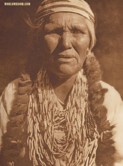 """Karok woman - Karok"", by Edward S. Curtis from The North American Indian Volume 13"