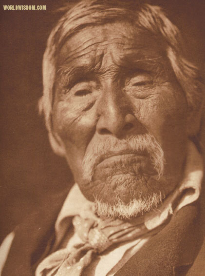 """Old Bob - Karok"", by Edward S. Curtis from The North American Indian Volume 13"